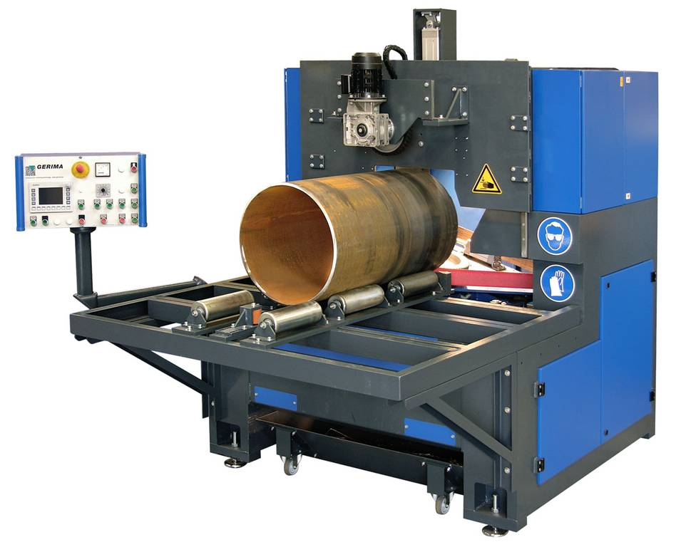 large pipe beveling machine